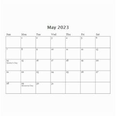 Wall Calendar 8 5 X 6   Multi Frames By Jennyl   Wall Calendar 8 5  X 6    Eswp9wl56guk   Www Artscow Com May 2016