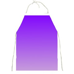 Violet To Wisteria Gradient Apron by BestCustomGiftsForYou