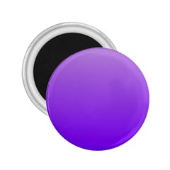 Wisteria To Violet Gradient 2 25  Button Magnet by BestCustomGiftsForYou