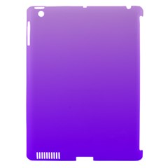 Wisteria To Violet Gradient Apple Ipad 3/4 Hardshell Case (compatible With Smart Cover) by BestCustomGiftsForYou