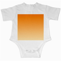 Orange To Peach Gradient Infant Creeper by BestCustomGiftsForYou