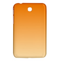 Orange To Peach Gradient Samsung Galaxy Tab 3 (7 ) P3200 Hardshell Case  by BestCustomGiftsForYou