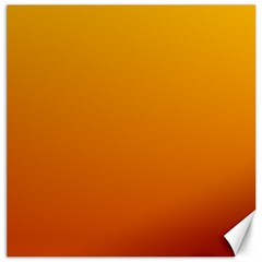 Amber To Mahogany Gradient Canvas 12  X 12  (unframed) by BestCustomGiftsForYou