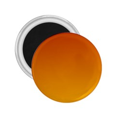 Mahogany To Amber Gradient 2 25  Button Magnet by BestCustomGiftsForYou