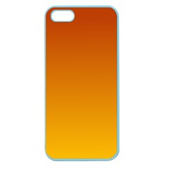 Mahogany To Amber Gradient Apple Seamless Iphone 5 Case (color) by BestCustomGiftsForYou