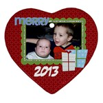 2013 Heart Ornament 1 - Ornament (Heart)