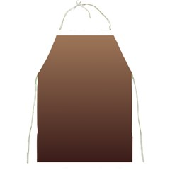 Chamoisee To Seal Brown Gradient Apron by BestCustomGiftsForYou