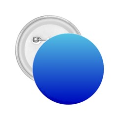 Electric Blue To Medium Blue Gradient 2.25  Button by BestCustomGiftsForYou