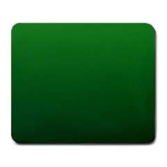 Green To Dark Green Gradient Large Mouse Pad (rectangle) by BestCustomGiftsForYou