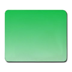 Dark Pastel Green To Pastel Green Gradient Large Mouse Pad (rectangle) by BestCustomGiftsForYou