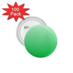 Pastel Green To Dark Pastel Green Gradient 1 75  Button (100 Pack) by BestCustomGiftsForYou
