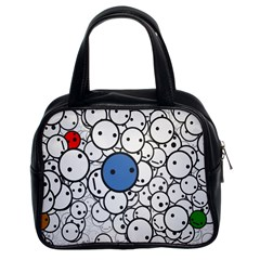 Smiley Classic Handbag (two Sides) by Contest1713515