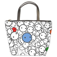 Smiley Bucket Bag by Contest1713515