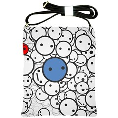 Smiley Shoulder Sling Bag by Contest1713515