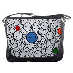 Smiley Messenger Bag by Contest1713515