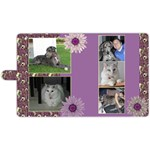 Purple Apple iPad 3/4 Leather Folio Case