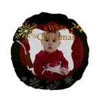 christmas - Standard 15  Premium Round Cushion