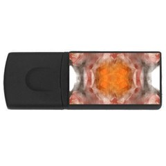 Seamless Background Fractal 4gb Usb Flash Drive (rectangle) by hlehnerer