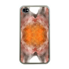 Seamless Background Fractal Apple Iphone 4 Case (clear) by hlehnerer