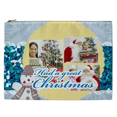 Christmas Gift By Merry Christmas   Cosmetic Bag (xxl)   V7m4ofnj7487   Www Artscow Com Front