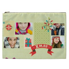 Christmas Gift By Merry Christmas   Cosmetic Bag (xxl)   Wkpbodqmqsw2   Www Artscow Com Front