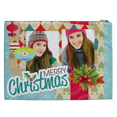 Christmas Gift By Merry Christmas   Cosmetic Bag (xxl)   S81ofcqd5oqu   Www Artscow Com Back