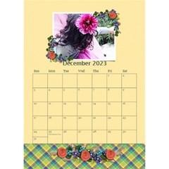 Desktop Calendar 6  X 8 5   Flower Blooms By Jennyl   Desktop Calendar 6  X 8 5    Dmre78wpjmn7   Www Artscow Com Dec 2016
