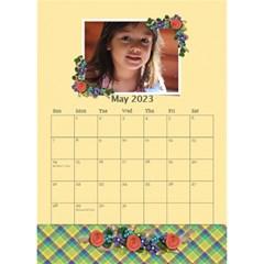Desktop Calendar 6  X 8 5   Flower Blooms By Jennyl   Desktop Calendar 6  X 8 5    Dmre78wpjmn7   Www Artscow Com May 2016