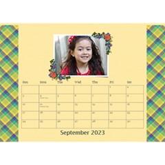 Desktop Calendar 8 5  X 6   Flower Blooms By Jennyl   Desktop Calendar 8 5  X 6    9yh32pza5ijh   Www Artscow Com Sep 2016