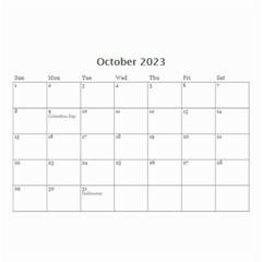 Wall Calendar 8 5 X 6   Flower Blooms By Jennyl   Wall Calendar 8 5  X 6    Vvolmtwx918v   Www Artscow Com Oct 2016