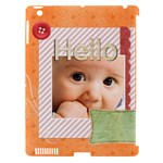 baby - Apple iPad 3/4 Hardshell Case (Compatible with Smart Cover)