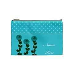 Cosmetic Bag (m)   Aqua Dreams By Jennyl   Cosmetic Bag (medium)   Wy890fbwedko   Www Artscow Com Front