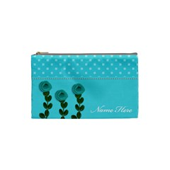 Cosmetic Bag (s)   Aqua Dreams By Jennyl   Cosmetic Bag (small)   Ns32x0a8zvzs   Www Artscow Com Front