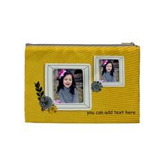 Cosmetic Bag (m)   Happiness 5 By Jennyl   Cosmetic Bag (medium)   K1q38kto2ipv   Www Artscow Com Back