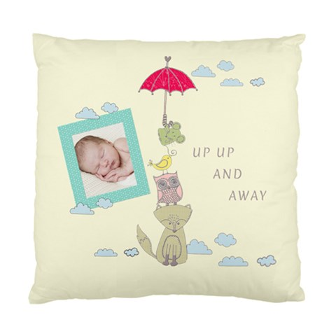 Up,up And Away Cushion By Chatting   Standard Cushion Case (one Side)   515u8bzagibj   Www Artscow Com Front