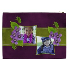 Cosmetic Bag (xxl)   Purple Kiss By Jennyl   Cosmetic Bag (xxl)   Xab9wsmbuh85   Www Artscow Com Back
