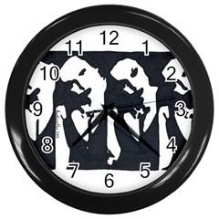 Subtle Change Wall Clock (black) by JacklyneMae