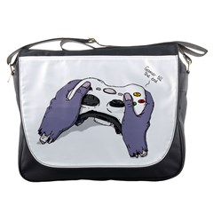 Gamer for life Messenger Bag
