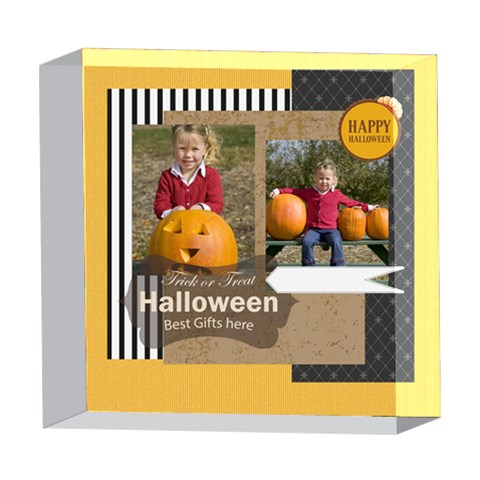 Helloween By Helloween   5  X 5  Acrylic Photo Block   1qp2remqmmtc   Www Artscow Com Front