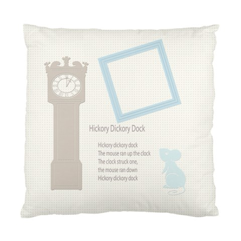 Hickory Dickory Dock By Chatting   Standard Cushion Case (one Side)   Rz9mlfxuf9qq   Www Artscow Com Front