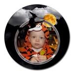 Halloween Round Mousepad