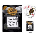 Halloween Playing Cards - Playing Cards Single Design