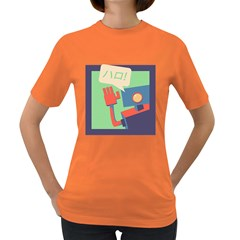 Hello! Womens' T Shirt (colored) by Contest1718754