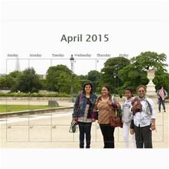 Ma Calendar By Neel Das   Wall Calendar 11  X 8 5  (18 Months)   My6uqzdn0v1w   Www Artscow Com Apr 2015
