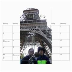 Ma Calendar By Neel Das   Wall Calendar 11  X 8 5  (18 Months)   My6uqzdn0v1w   Www Artscow Com May 2015