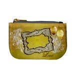 Love Just Married gold coin purse - Mini Coin Purse