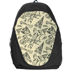 Bones & Arrows Backpack Bag by Contest1719194