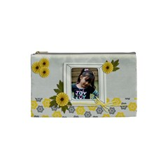 Cosmetic Bag (s)  Happiness 3 By Jennyl   Cosmetic Bag (small)   Wuchfoa5opwo   Www Artscow Com Front