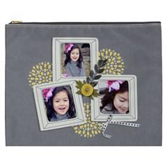Cosmetic Bag (xxxl) Happiness 7 By Jennyl   Cosmetic Bag (xxxl)   Ty1n97rg5o0p   Www Artscow Com Front