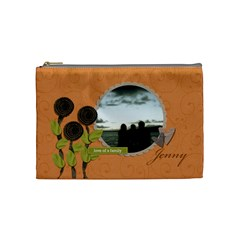 Cosmetic Bag (m) My Flower Garden 2 By Jennyl   Cosmetic Bag (medium)   B73w9o9wf0u6   Www Artscow Com Front